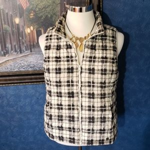 Ruff Hewn Large Quilted Puffer Vest Full Zip